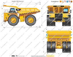 mining truck blueprint google search dump truck research
