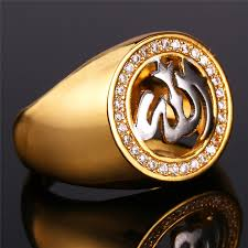 luxury gold rings images U7 allah rings for men jewelry with luxury cubic zirconia gold jpg