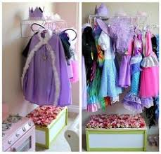 hanging hooks for dress up clothes plus love the addition of the