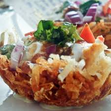 indian appetizers tokri chaat a favorite indian snack recipe by shumaila key