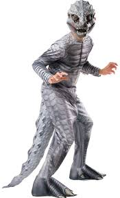 Boys Halloween Costumes Party Boys Indominus Rex Dinosaur Costume Jurassic Party