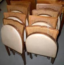 Stakmore Folding Chairs Vintage Rasmus Auctioneers