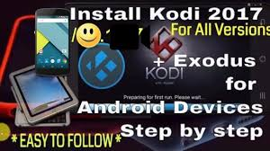 how to setup kodi on android how to install and setup kodi on android phone tablet step by