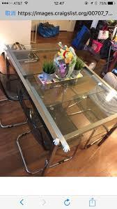 ikea glivarp extendable table ikea glivarp extendable table clear and 4 tobias chairs 250