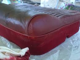 teinter un canap en cuir rénover un cuir droit et