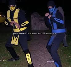 Mortal Kombat Scorpion Halloween Costume Simpdorletalk Mortal Kombat Scorpion Costume