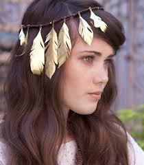 feather headband put a feather on it diy gilded feather headband