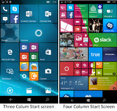 microsoft thanksgiving sale how to enable four columns for the start screen on the lumia 950