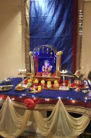 Home Decoration Of Ganesh Festival by 135 Best Ganpati Decorations Images On Pinterest Ganesha