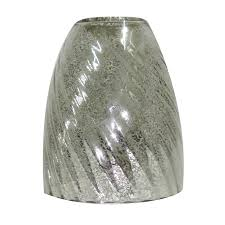 glass shades for vanity lights portfolio 5 5 in h 4 75 in w mercury glass bell vanity light shade