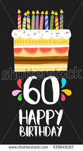 celebrating 60 years birthday 60th birthday stock images royalty free images vectors
