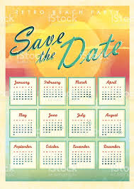 picnic event 2015 calendar design template save the date stock