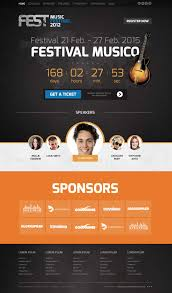 fest joomla template for music festivals congresses or party