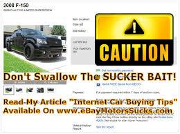 auto bid on ebay ebay car scams 05 31 2013 beware of sucker bait doc s quality cars