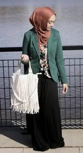 blazer wanita muslimah modern 1344411 contoh baju blazer muslim wanita kerja terbaik darwrts4ash