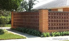 Stylishbrickfencewithgates Entrada Pinterest Brick Fence - Brick wall fence designs