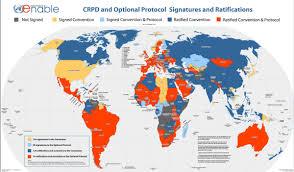 Switzerland World Map by United Nations Crpd Cbm International