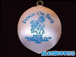 smurf ornaments schlumpf weihnacht ornaments
