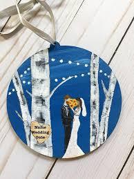 Wedding Ornaments Personalized Best 25 Wedding Ornament Ideas On Pinterest Wedding Christmas