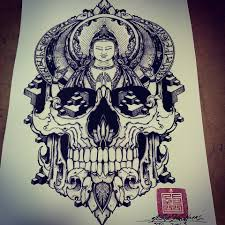 new backpiece design from orge sake tattoo crew