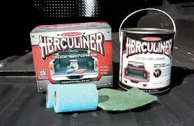 How To Spray Paint Rubber Herculiner Diy Roll On Bedliner Kit How To
