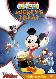 mickey halloween mickey mouse clubhouse mickey u0027s treat dvd amazon co uk