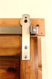 How To Install Barn Door Hardware by Barn Door Locks Sliding Barn Door Kit Interior Image Of