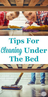how to clean u0026 declutter under the bed