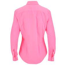 polo ralph lauren women u0027s harper shirt electric neon free uk