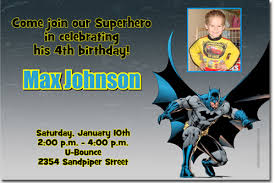 batman birthday invitations super hero birthday invitations candy
