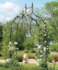 wedding arbor ebay garden archway trellis wedding arbor flower metal entry