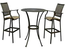 outdoor pub table sets outside pub table and chairs furniture made patio pub bar sets