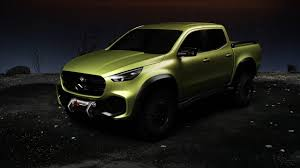 mercedes pickup 2017 the new mercedes benz concept x class pickup youtube