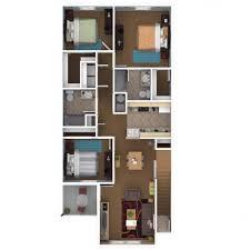 Floor Plan Of 3 Bedroom Flat Home Design 79 Stunning 3 Bedroom Apartment Floor Planss