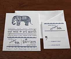 contemporary indian wedding invitations a modern indian fusion letterpress invitation is here with a