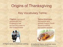 thanksgiving then and now ppt