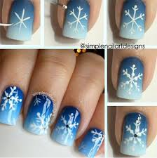15 step by step winter nails art tutorials for learners 2017