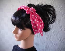 polka dot hair pink polka dot etsy