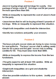 systems of inequalities practice problems