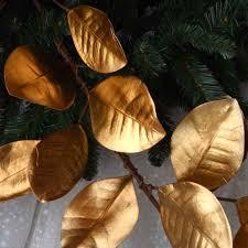 magnolia leaf garland 5 gold magnolia leaf garland robertson