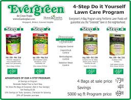lawn care programs for do it yourself lawncare programs evergreen