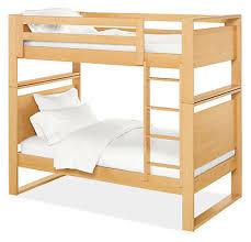 Dayton Kids Wood Bunk Bed Modern Bunks  Lofts Modern Kids - Room and board bunk bed