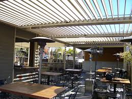 Louvered Patio Roof Commercial Aluminum Louvered Roof Patio Cover Patio U0026 Yard