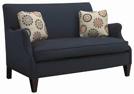 Curved Settees And Sofas by Contemporary Settee With Romantic Curved Arm By Sam Moore Wolf