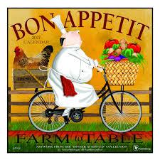 Bon Appetit Kitchen Collection Amazon Com 2017 Bon Appetit Wall Calendar Farm To Table