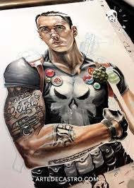eminem the punisher and coloring tattoos u2014 artedecastro