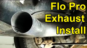 flo pro exhaust install u0026 overview 2008 dodge 6 7l cab u0026 chassis