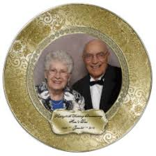 anniversary plates 50th anniversary 50th wedding anniversary plates zazzle