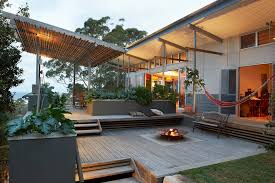 Cheap Pergola Ideas by Superb Cast Iron Fire Pit In Deck Eclectic With Waterproof Pergola