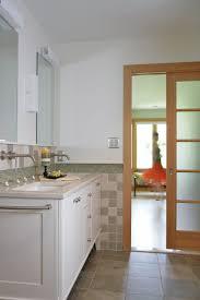 design ideas warm bathroom vanity with undermount sink and